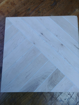 Maple Plank inlay with Grout