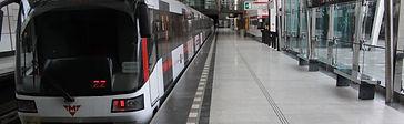 Vodící line metro Praha Střížkov