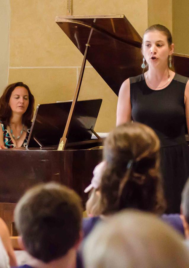 Audition classique des chanteurs de l'atelier de chant Vocalissimo