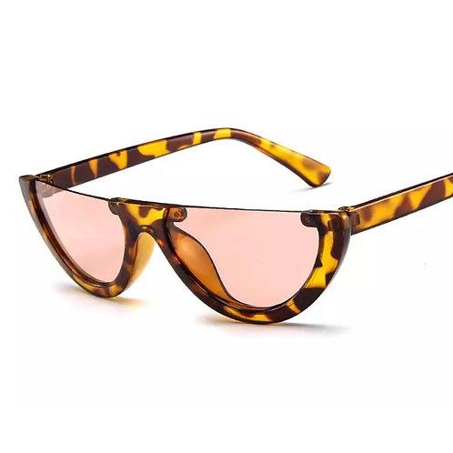 """Chic""  Half Frame Sunglass"
