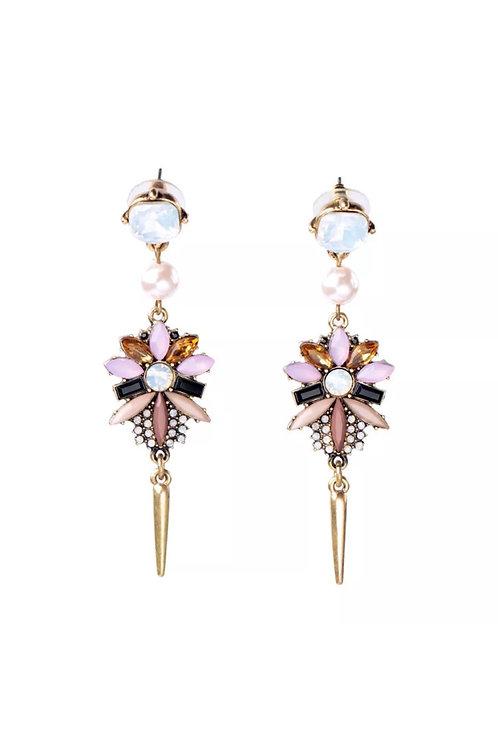 """""""Golden Globe"""" Glam Earrings"""