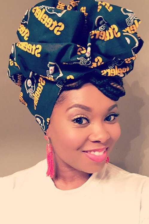 """Pittsburg Steelers"" Official Print Head Wrap"