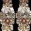"Thumbnail: ""Chunky Topaz"" Luxe Earrings"