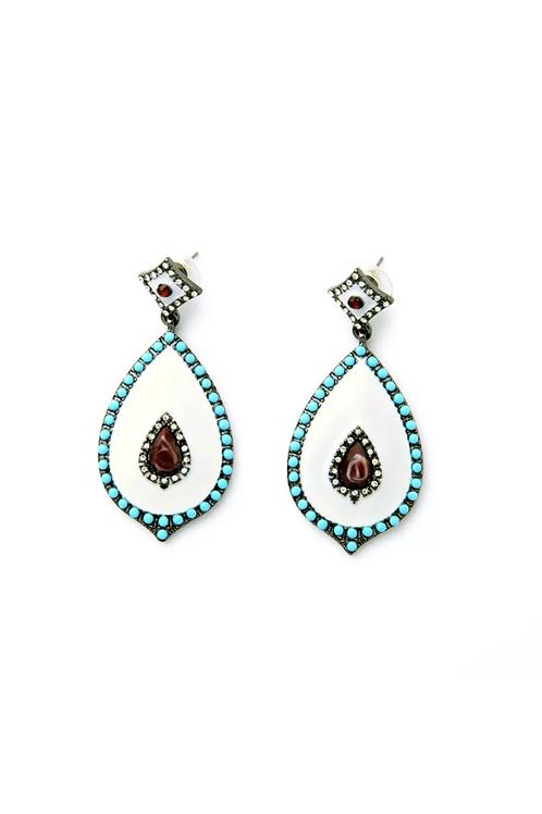 """Tribal"" Glam  Earrings"