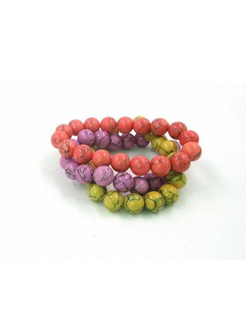 """Neon Neptune"" Stretch Bracelet"