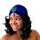 """Thumbnail: """"Royal Velvet"""" Vivid Blue Turban"""