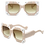 """Thumbnail: """"Sultry"""" Pale Pink Two-Toned Sunnies"""