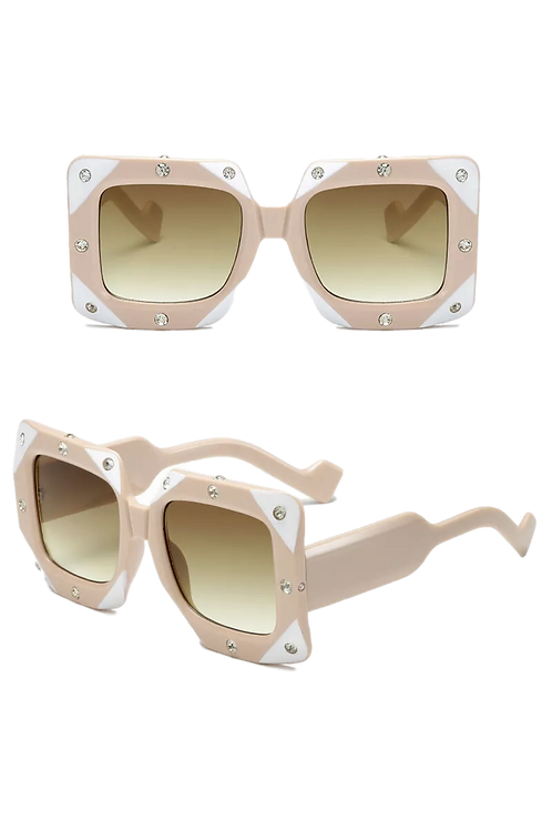 """""""Sultry"""" Pale Pink Two-Toned Sunnies"""