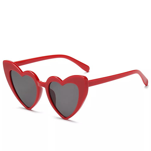 """Hearts"" Lightly Tinted  Sunglasses"