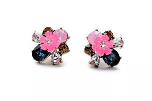 """""""Vintage Rose"""" Stud Earrings"""