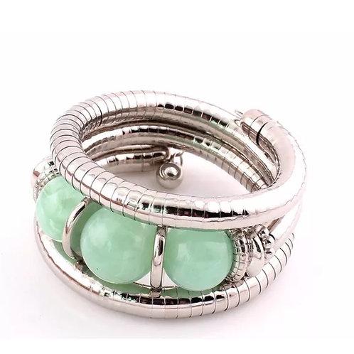 """Seafoam"" Bangle Bracelet"