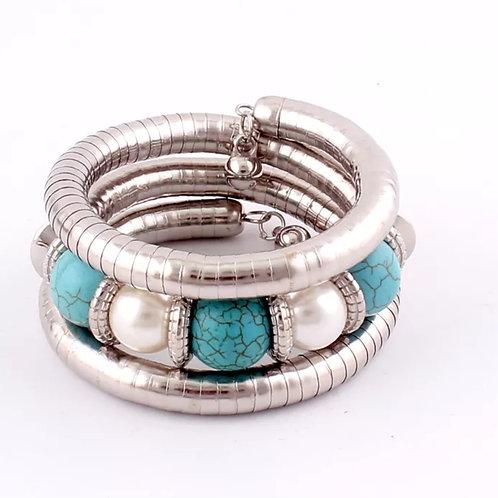 """Charmed"" Bangle Bracelet"