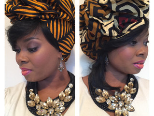 Head Wraps & Statement Necklaces Go Together Like Stilettos & Standards