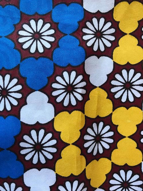 """ Estelle"" African Print Headwrap"