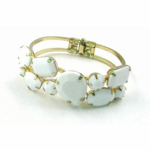 """Opal"" Plated Gold Bracelet"