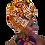 Thumbnail: Mixed Tribal African Print Head Wrap