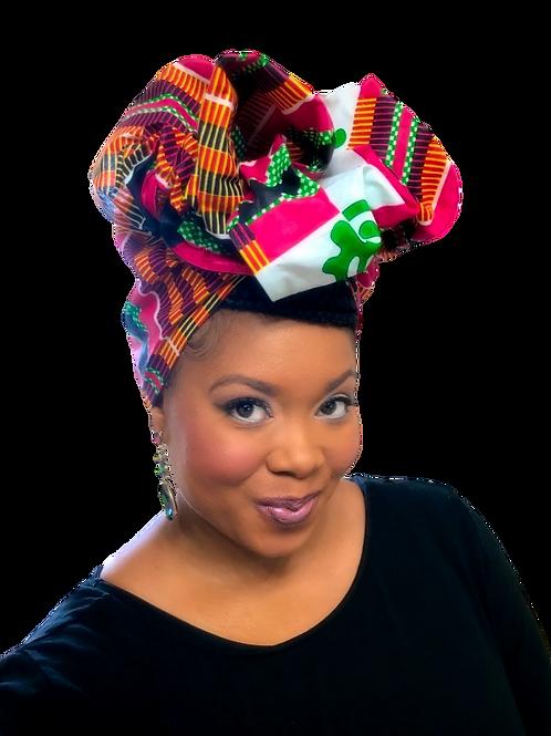 """Gye Name"" African Print Headwrap"