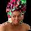 "Thumbnail: ""Marvel"" African Print Head Wrap"