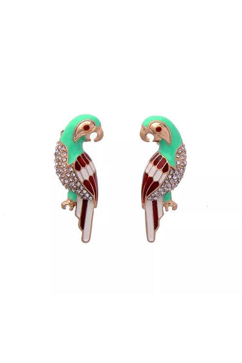"""""""Fall Bird"""" Dainty Earrings"""