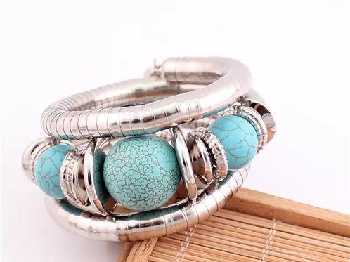 """""""Turquoise""""  Bangle Bracelet"""
