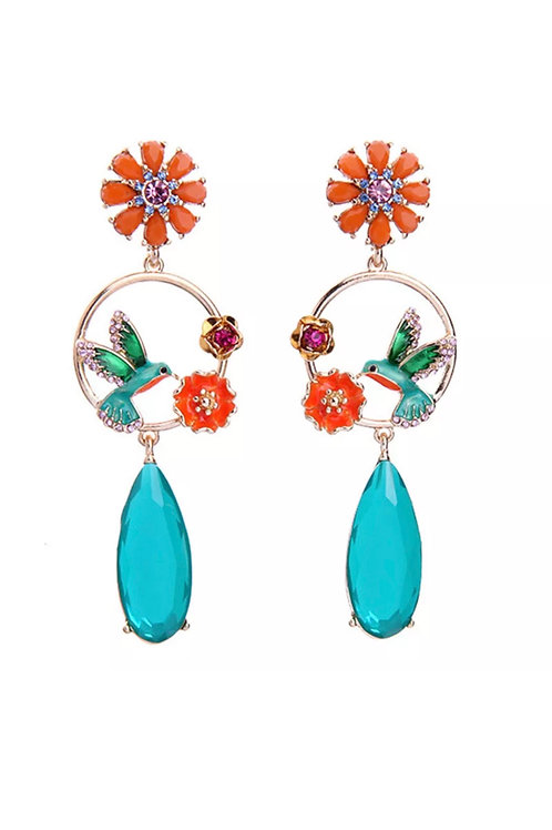 """""""Sunshine"""" Luxe & Length Earrings"""