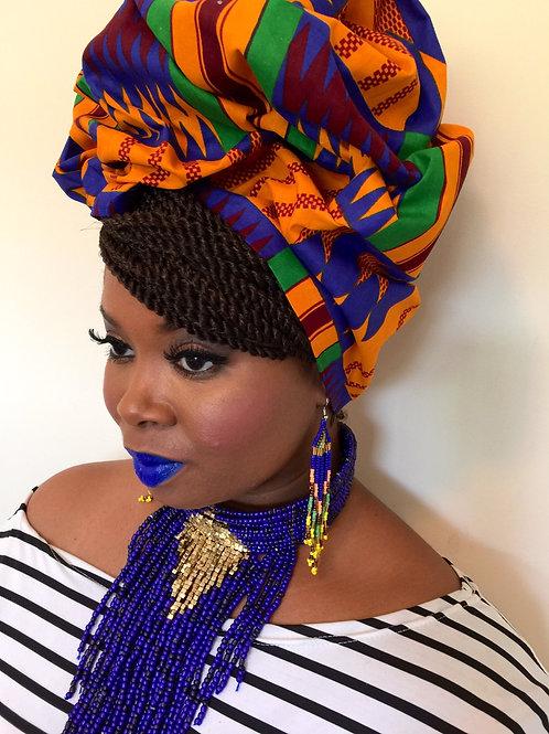 """Ami"" African Print Headwrap"