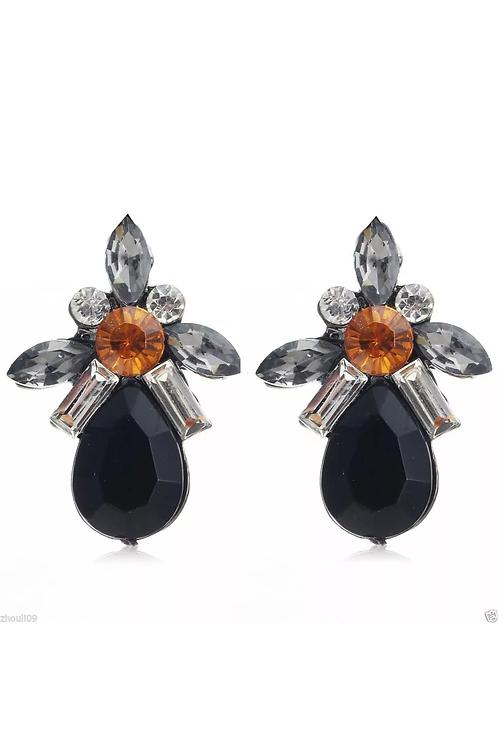 """""""Black Beauty"""" Earrings"""
