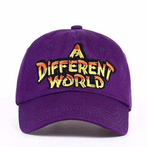 """""""A Different World"""" Unisex Baseball Cap"""
