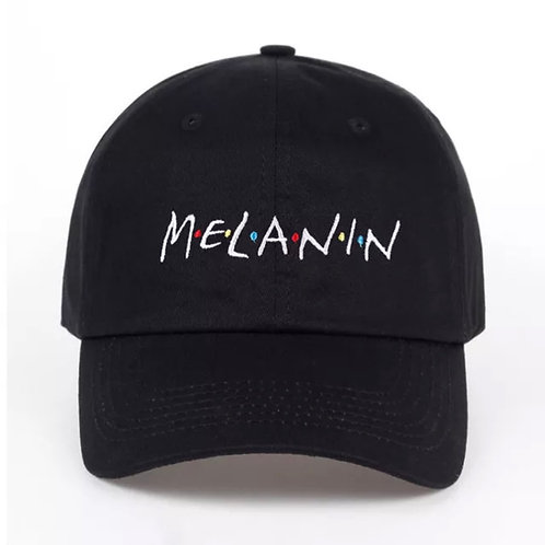 """Melanin"" Unisex Baseball Adjustable Cap"