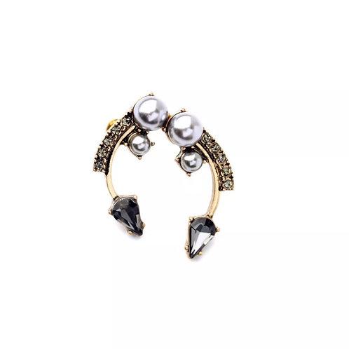 """""""Hooked"""" Glam Stud Earrings"""