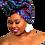 """Thumbnail: """"Quad"""" African Print Head Wrap"""
