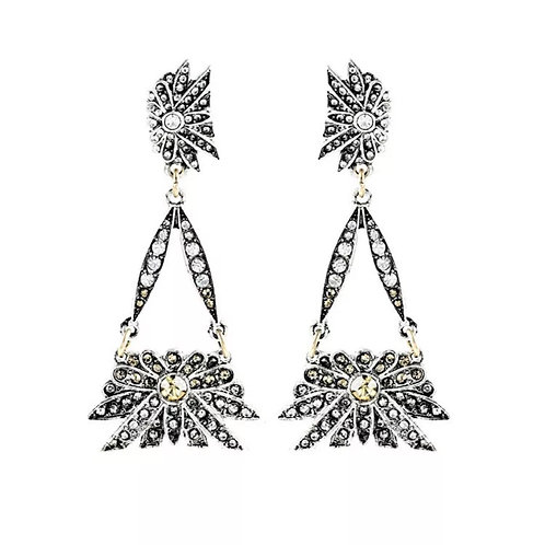 """Oh to Love"" Luxe Dangle Glam Earrings"