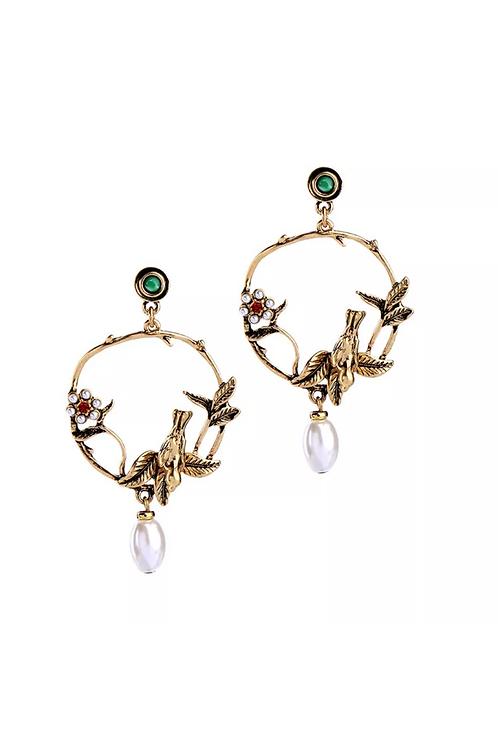 """""""Lynn"""" Antique Inspired Earrings"""