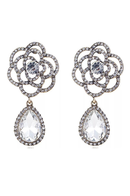 """""""Viola"""" Glam Earrings"""