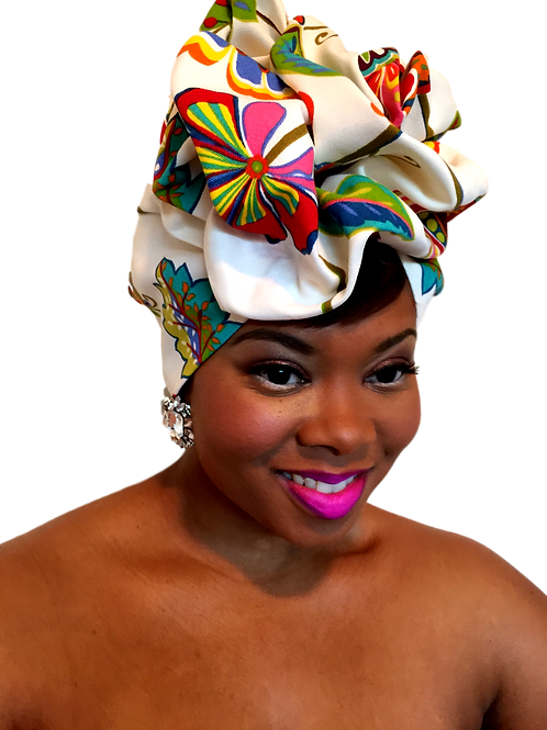 """Orchid"" Spring Collection Head Wrap"