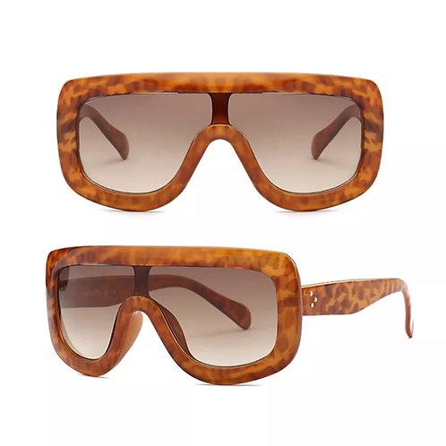 """Flat Top"" Modern  Sunglasses"