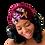 "Thumbnail: ""Velvet Glam""Cranberry Turban"