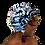 "Thumbnail: ""Exclusive"" Lavender, Pink, Black Head Wrap"
