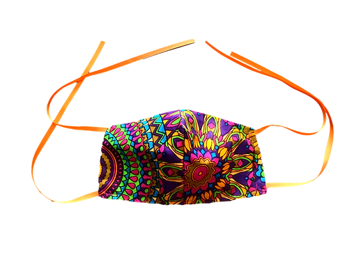 Protective Face Mask  (African Print)