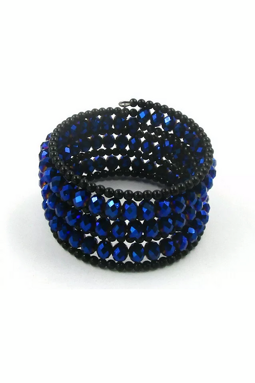 """Divine"" Royal Blue Winding  Bracelet"