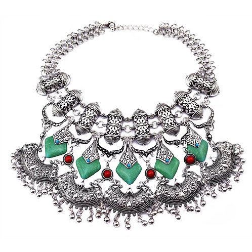 """Glamazon Gal"" Luxe Statement Necklace"