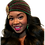 """Thumbnail: """"Holiday"""" Multicolored Turban with Coordinating Brooch"""