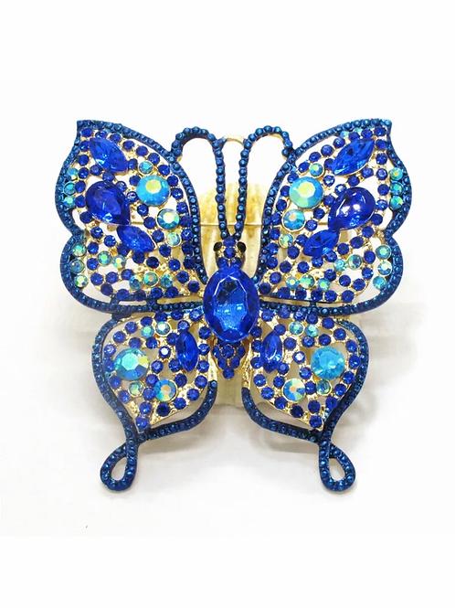 """""""Blue Butterfly"""" Brooch"""