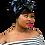 "Thumbnail: ""Black Beauty"" Stretch Sequin Head Wrap"