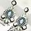 "Thumbnail: ""Prissy in Green"" Elegant Earrings"