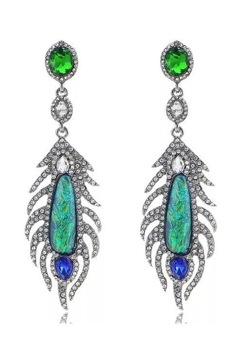 """""""Tropical Paradise"""" Luxe Earrings"""
