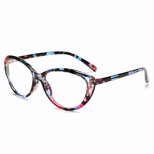 Blossom Clear Frames in Pink, Blue, & Purple