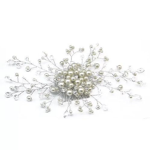 """""""Pearl"""" Wedding & Special Occassion Hair Clip"""