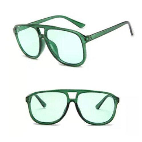"""Aviators"" in Money Green Sunglasses"