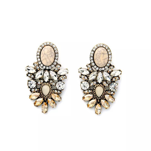 """Classic Cluster"" Glam Earrings"